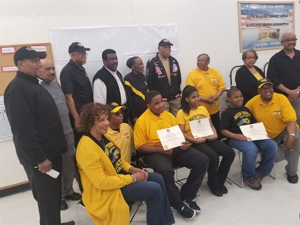 GEC Drone Academy Pilots inducted into Southfield branch of the Tuskegee Airmen